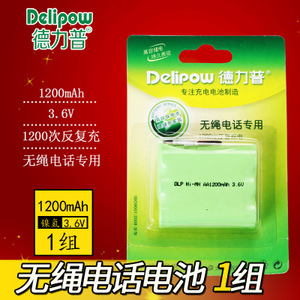 Delipow/德力普 AA-3.6V-1200mAh