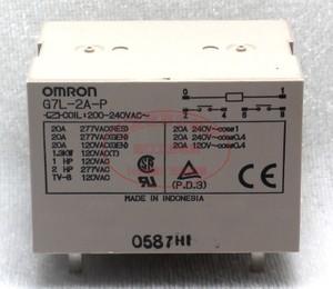 Omron/欧姆龙 G7L-2A-L-AC220V